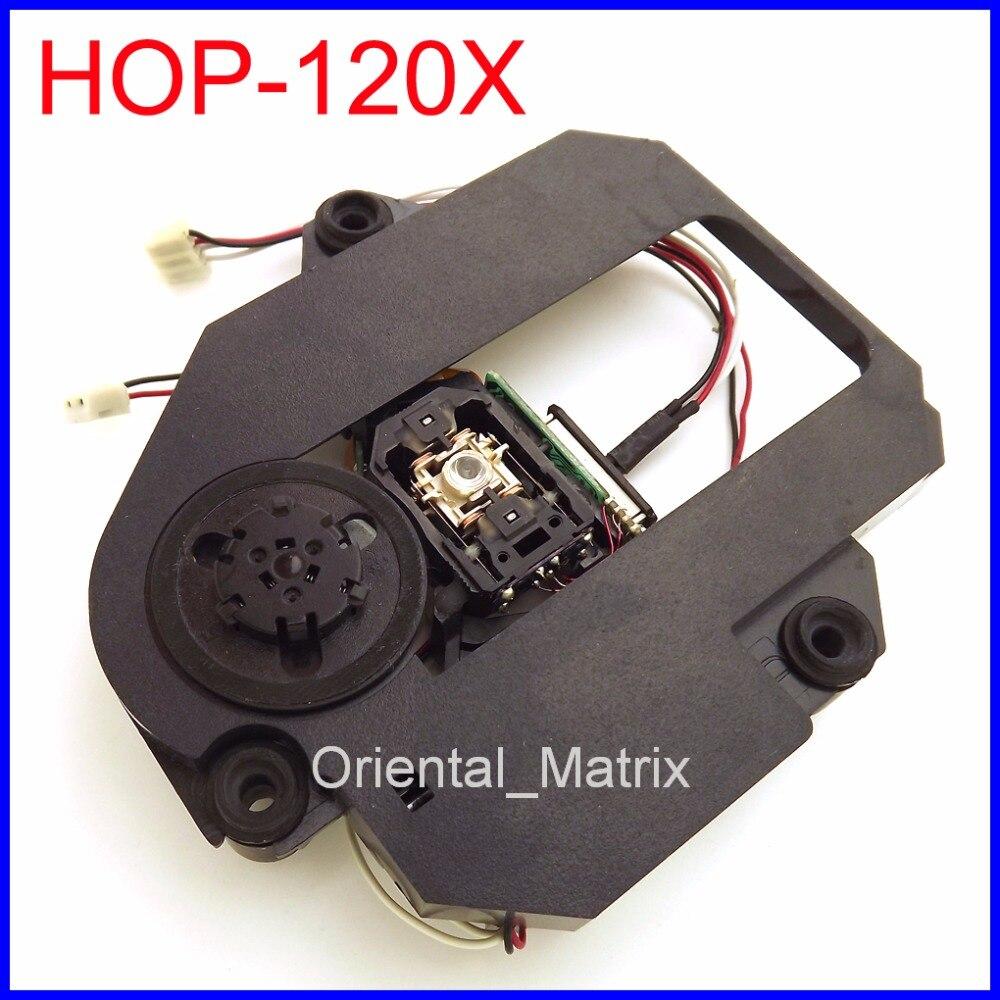 Free Shipping HOP-120X Optical Pick UP Mechanism HOP120X DVD Laser Lens Block Optical Pick-up