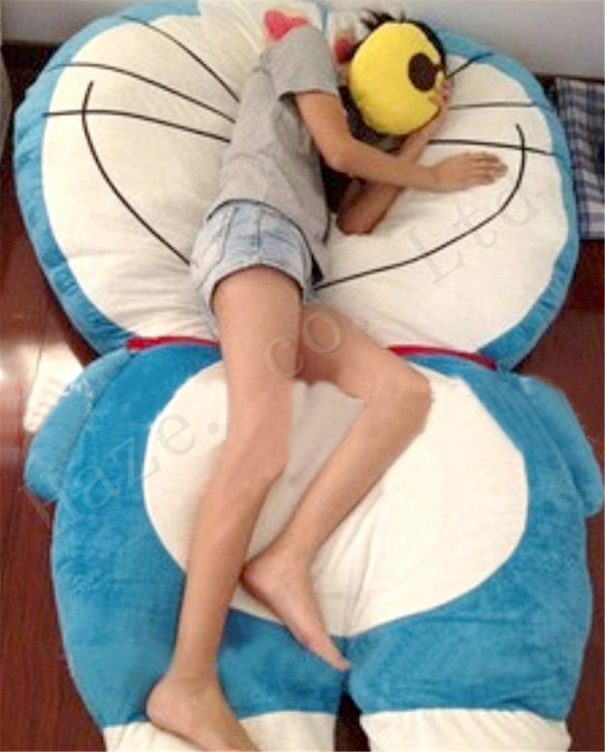 Doraemon Super Large Short Plush PP Cotton Stuffed Mattress Tatami