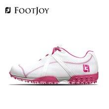 FootJoy FJ Women's Golf Shoes Genuine Leather Breathable Waterproof Stability 2016 New