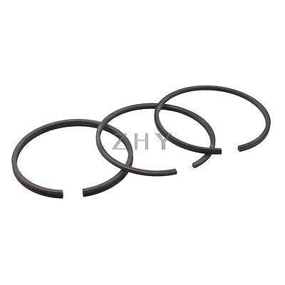Black Metal 48mm Inner Diameter Balance Sealing Piston Ring Set 3 in 1 changchai 4l68 engine parts the set of piston piston rings piston pins