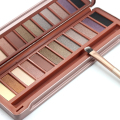 Professional 12 Colors Eye Shadow Palette  Makeup Shimmer Eyeshadow Earth Color Cosmetic Nude Makeup With Brush M02493