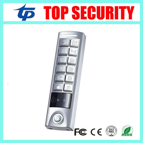 DHL free shipping new arrival good quality IP65 waterproof RFID card reader 125KHZ smart card access control reader keypad escada легкое пальто