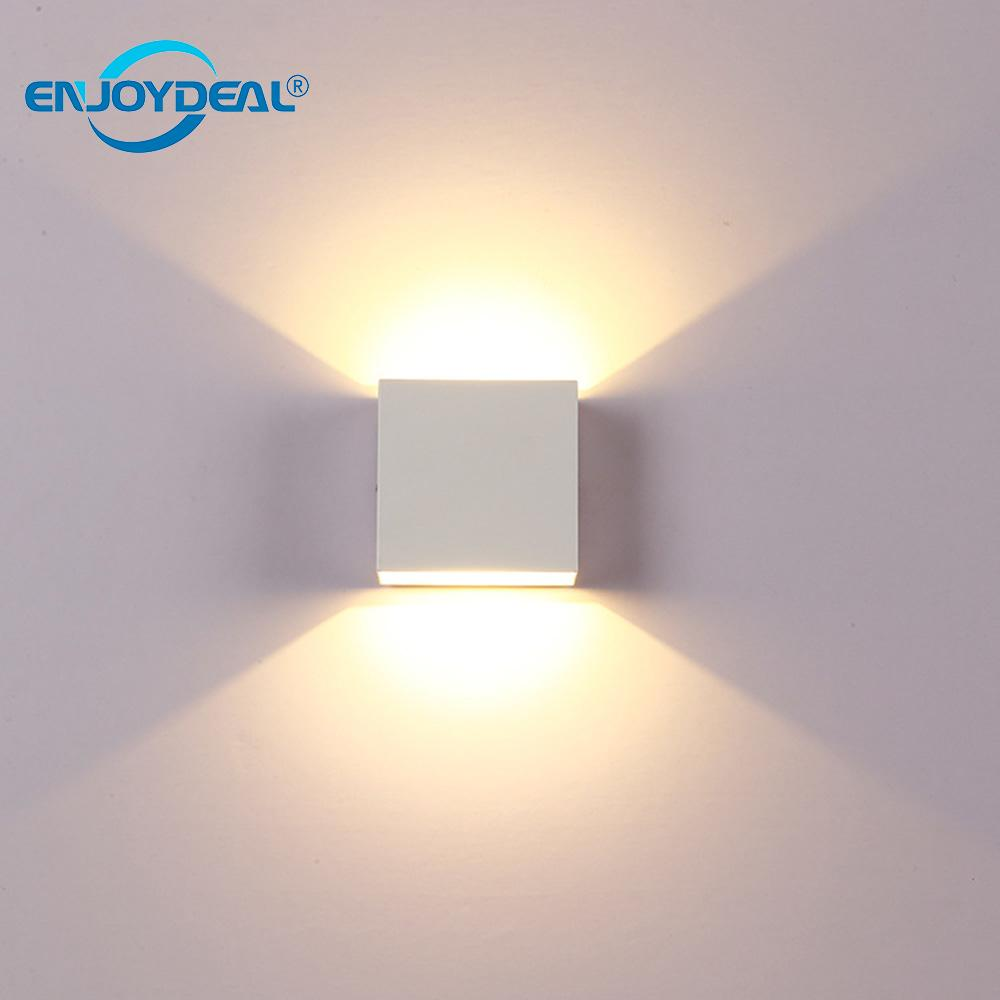 Lights & Lighting Ingenious Cube Cob Led Indoor Lighting Wall Lamp Modern Home Lighting Decoration Sconce Aluminum 6w 85-265v For Bath Front Mirror Corridor Dependable Performance
