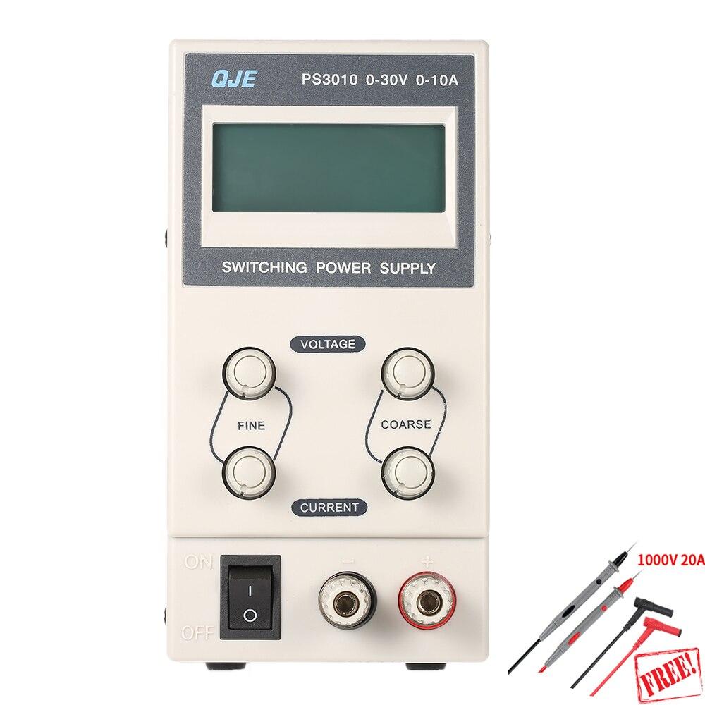 PS3010 30 В 10A PS6005 60 В 5A профессиональная цифровая Регулируемый DC Питание лаборатории коммутации Питание 110 В 220 В США/ЕС