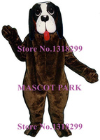 Barney Dog Mascot Costume Adult Size Hot Sale Cartoon Character Puppy Theme Anime Cosplay Costumes Carnival Fancy Dress kits