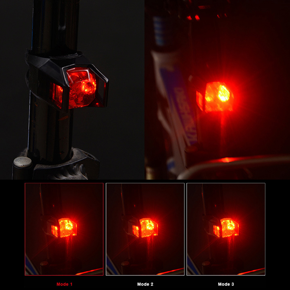 Hot Sell 1PC Brake Light LED Tail Light Safety Warning Light for Bicycle Bike HP