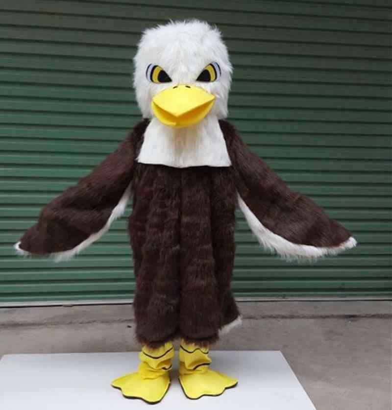 Nieuwe Volwassen Beste Koop Foam Baldy Eagles Fancy Cartoon Mascot Kostuum Pluche Kerst Fancy Dress Halloween Mascotte Kostuum