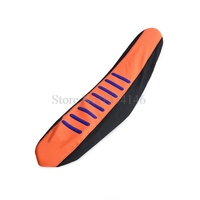 NICECNC Motorcycle Ribbed Rubber Gripper Soft Seat Cover For KTM 85 105 125 150 200 250