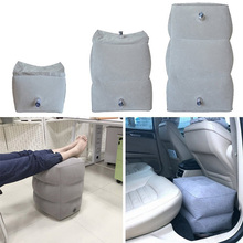 Inflatable Height Adjustable Kids Flight Footrest Pillow Two Valves Design Inflatable Travel Pillow Foot Pad Foot Rest Pillow цена