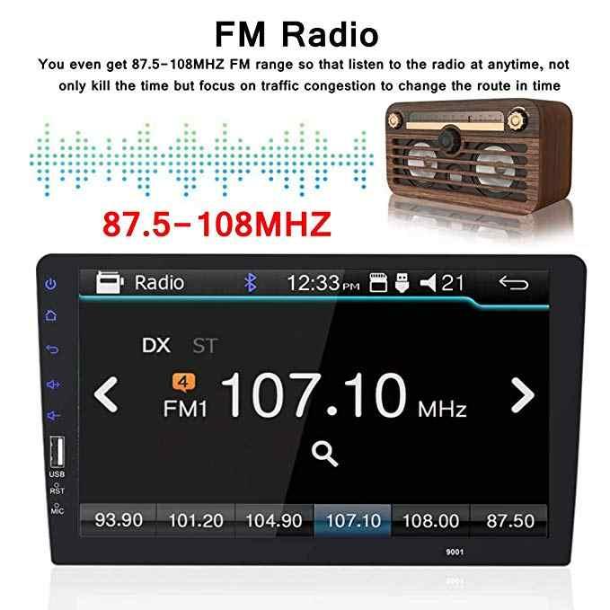 "9 ""Touch Mirrorlink Android Carplay Radio MP5 Player Bluetooth USB Kamera Belakang Mobil Radio 1Din Auto Radio Tidak Ada Android"