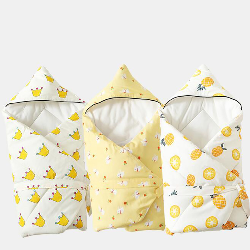 Baby Care Swaddle Blanket Wadded Quilt Stroller Thicken Blanket Crib Bedding Swaddling Cartoon Printing Autumn Winter BWZ017