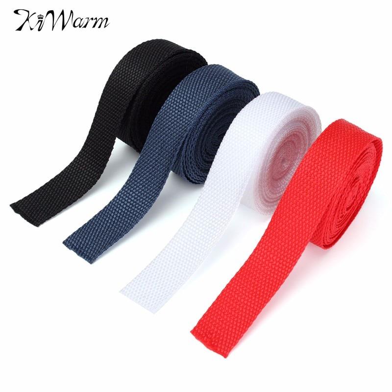 KiWarm Multi Purpose 4m Nylon Webbing 25mm Tape Making DIY Craft Sewing Backpack Strapping Apron Bunting Strap Belt Knapsack