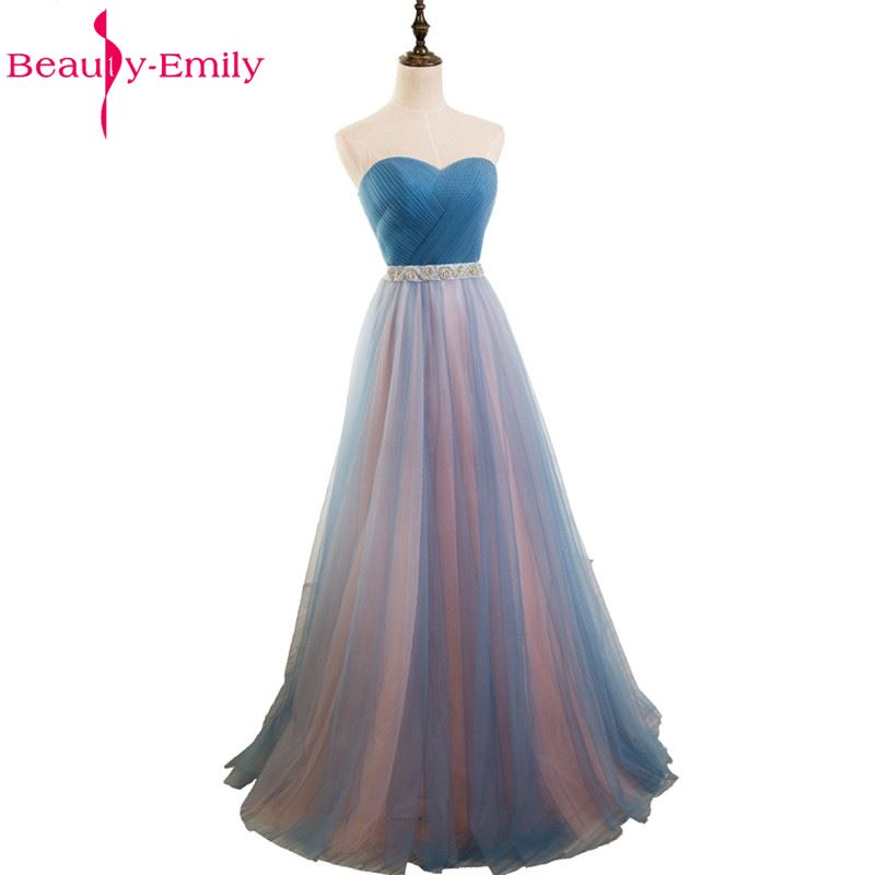 Beauty-Emily Cintrast Color A-line   Bridesmaid     Dresses   2017 Party Prom   Dresses   Bridal   Dresses   Homecoming