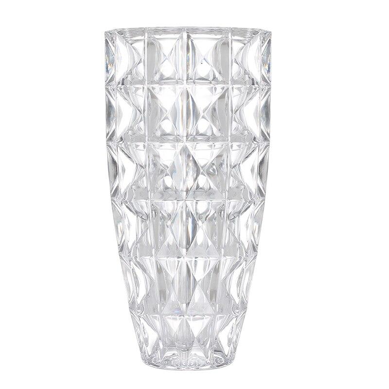 DONGLIN Новые прозрачные украшения домашнего офиса аксессуары lucky bamboo утолщение высокое качество белый кристалл стеклянная ваза