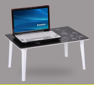 EC DAILY Free Shipping Computer Desk Bed Computer Desk Laptop Table Folding  Tables Lazy Little Small
