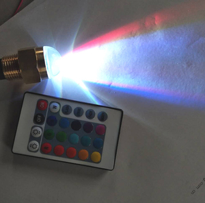 Image 2 - 12V Marine Yacht LED Underwater Light with Remote Controller Brass Pond Swimming Pool RGB Lamp Boat Accessories