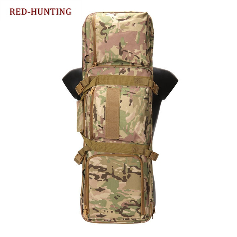 e5b608ff127a 85cm Tactical Hunting Rifle Bag Backpack Airsoft Military Army Shooting Gun  Bag Case