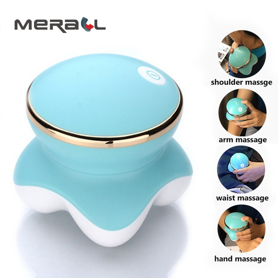 Mini Octopus body massager vibration for Head back neck massage relax Muscle Pain Relief Health care Portable Beautiful design massager ergonomic design body self back hook massage stick muscle deep pressure original point body care hot selling