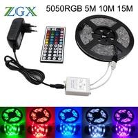 SMD RGB LED Strip 5050 5M 10M 15M 30led M Decor RGB LED Light Lamp Ribbon