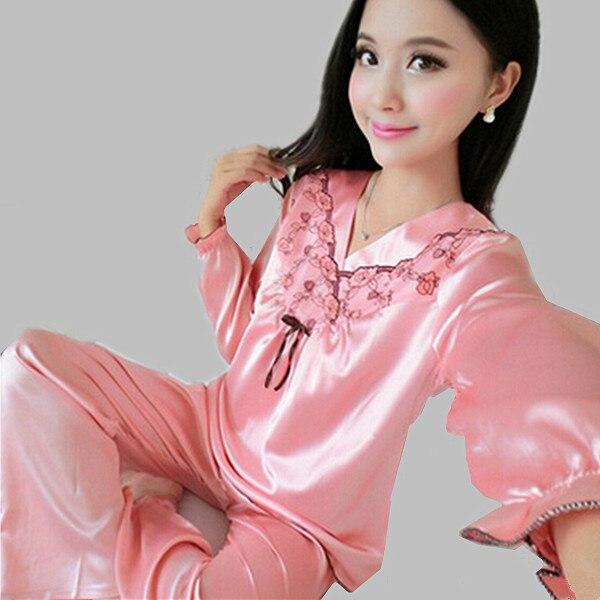 Satin Flannel Pajamas Promotion-Shop for Promotional Satin Flannel ...