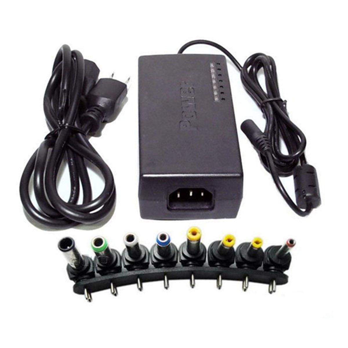 96W Multi-Funktion Universal AC DC Power Adapter Ladegerät 12 V-24 V Einstellbar Für Notebook Laptop
