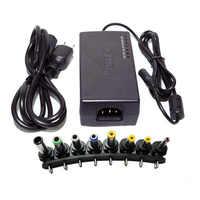 96W multi-fonction universel AC DC adaptateur chargeur 12 V-24 V réglable pour ordinateur portable portable