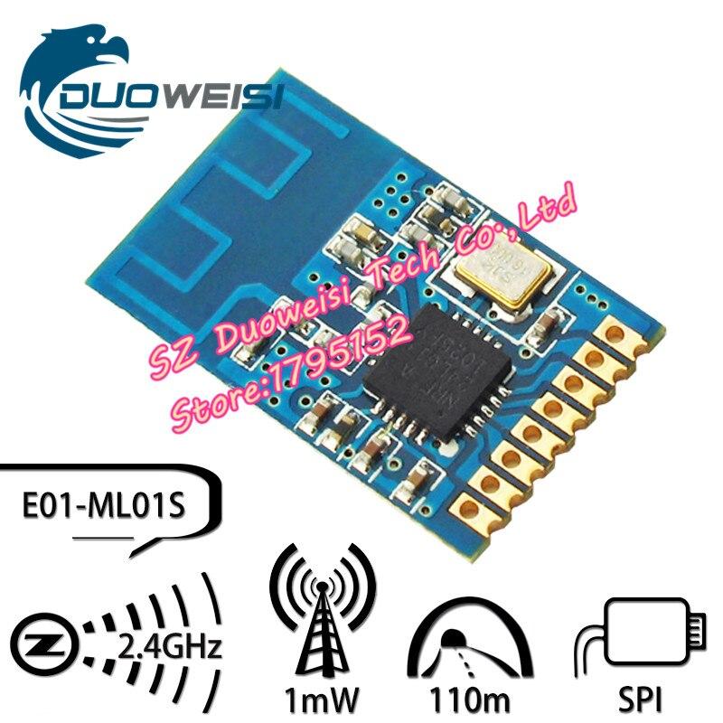 E01-ML01S SMD wireless transceiver module nRF24L01 + active RFID / 2.4G wireless module / similar CC2500 industrial wireless module 433 m wireless module wireless transceiver module cc1101 module