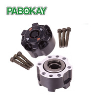 2 pieces x FOR TOYOTA Landcruiser PRADO V8 Free Wheel Hub B001 43530 69065 4353069065 Aluminum alloy
