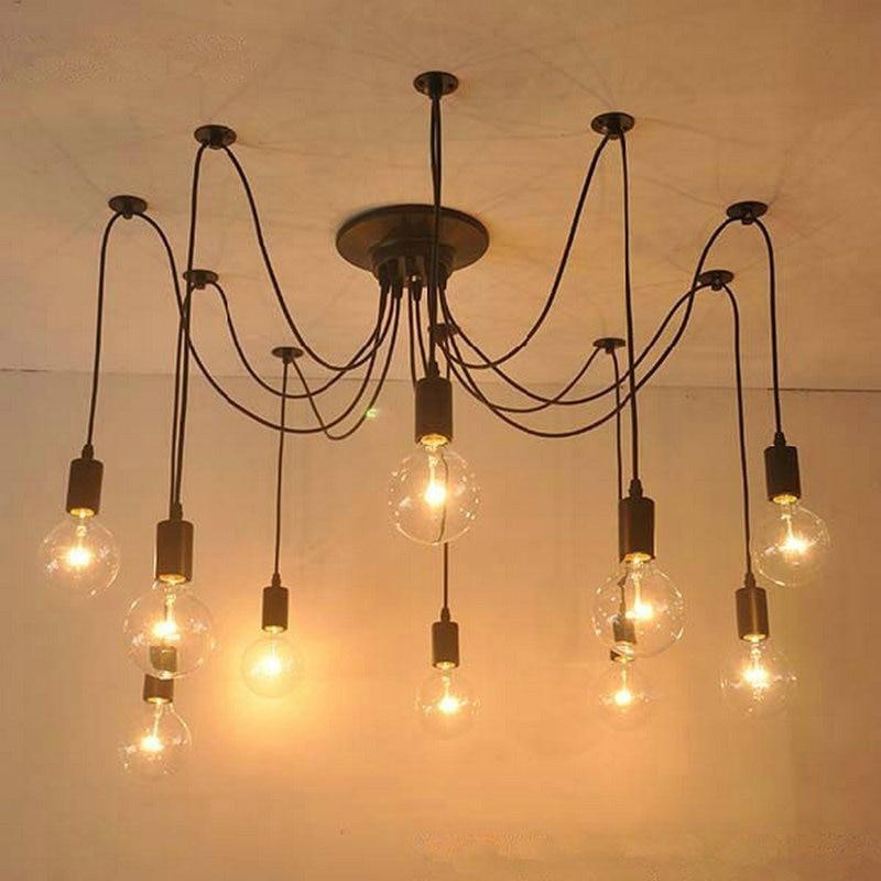 Nordic Retro Edison Chandelier Lighting