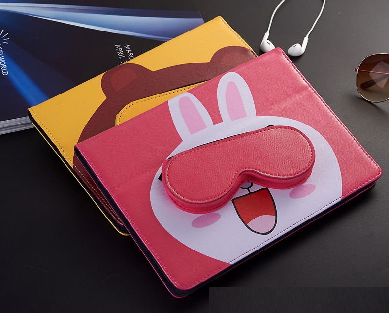 FULCLOUD Protective shell for ipad mini 1234 PU Cartoon case for ipad 234 for pad air 1 air 2 pro 97 inch free shipping