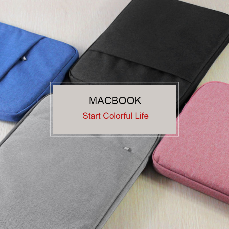 Hoge kwaliteit zachte hoes laptop tassen draagbare rits laptop - Notebook accessoires - Foto 6