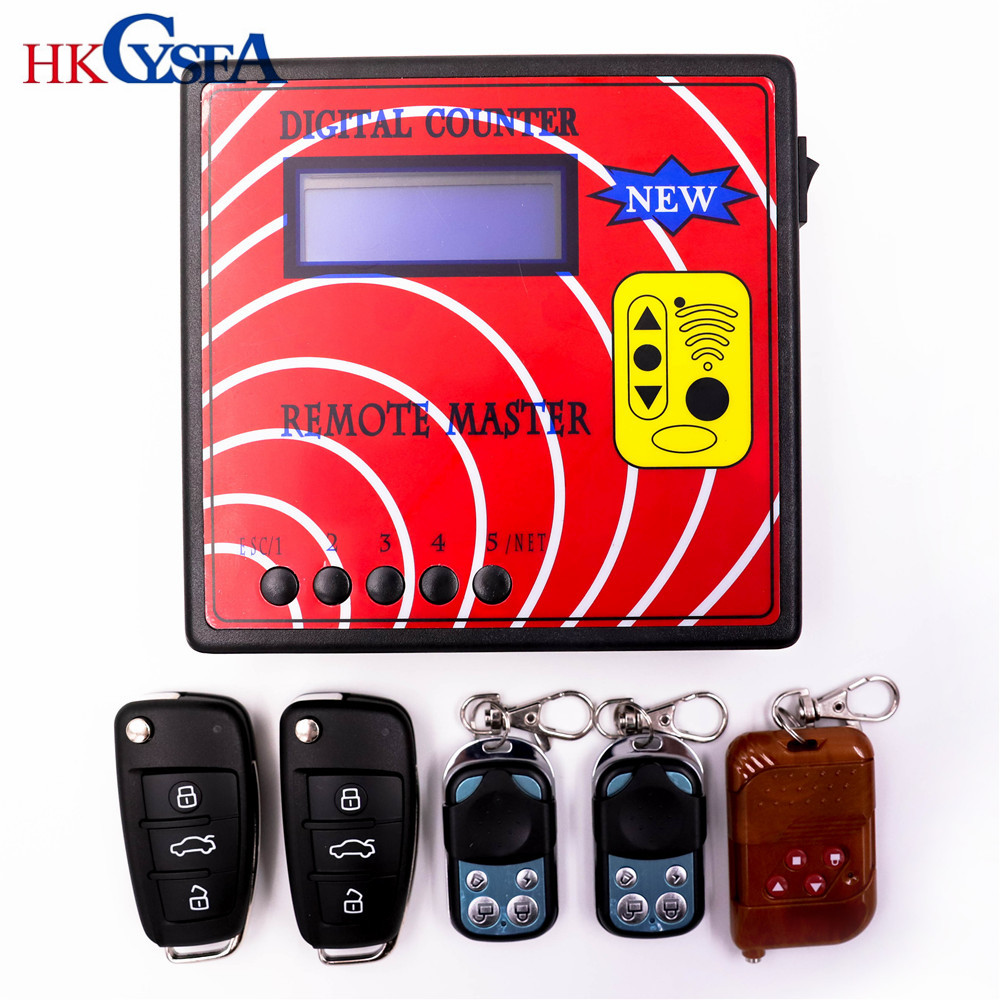 HKCYSEA New Computer Remote Control Copying Machine Digital Counter Remote Master With 5pcs Fixed Code Model