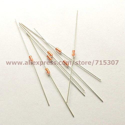 PHISCALE 100pcs NTC Thermistor MF58 glass seal type 2K B Value(3950 5%)