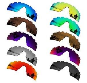 Image 1 - SmartVLT lentilles polarisées de remplacement pour Oakley M monture, lunettes de soleil ventilées de frappe, plusieurs Options