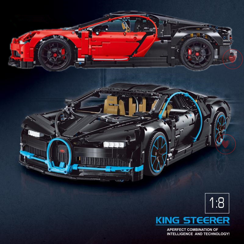 New Technic Series Blue Racing Car Set Compatible legoings 42083 Toys Model Building Blocks Bricks Kits Toys on Boy Gifts doinbby store 21004 1158pcs with original box technic series f40 sports car model building blocks bricks 10248 children toys