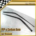 Para Nissan Skyline R32 GTR GTS Carbon Fiber Deflector De Viento Generador de Vivienda Palanca Del Coche Accesorios Car Styling