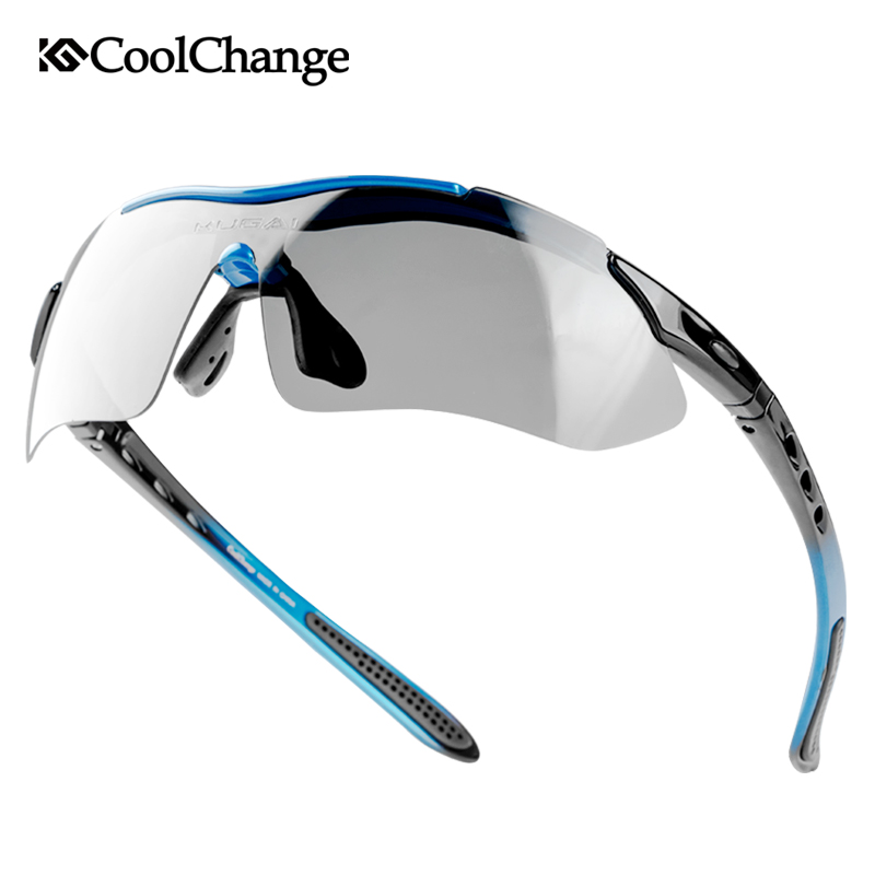 CoolChange Polarized Cycling Glasses Bike Sports Sunglasses Goggles Bicycle Glasses Protection Eyewear 5 Lens Myopia Frame 4 lens outdoor sports cycling glasses photochromic polarized men cycling eyewear sunglasses with myopia frame
