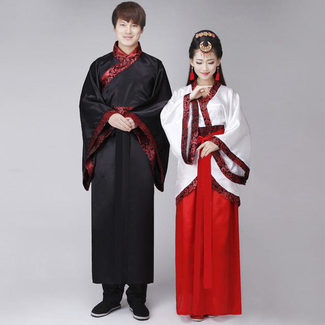 traditional folk dance costumes hanfu costume han dynasty man