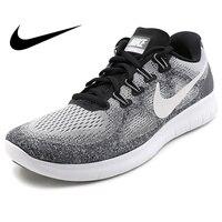 Оригинальный Официальный NIKE FREE RN мужские кроссовки теннисные кроссовки спортивная обувь дышащая удобная спортивная классическая 880839