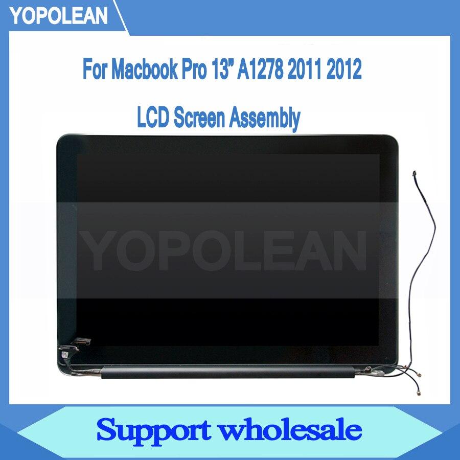 """新しい Lcd 、 Led 画面アセンブリ Macbook Pro 13 """"A1278 液晶ディスプレイフルセット 2011 2012 661 5868  グループ上の パソコン & オフィス からの ノートパソコンの液晶画面 の中 1"""