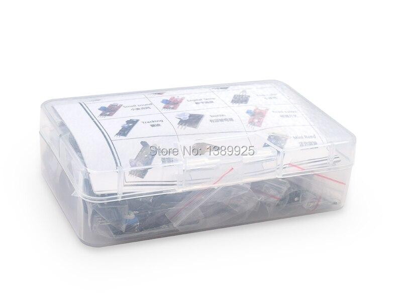 37 en 1 Kit Pour Capteur Pour Arduino Entrées avec boîte en plastique