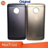 10PCS Original Quality For Motorola Moto G5 XT1685 XT1672 XT1670 XT1671 Battery Cover Back Battery Door Rear Housing Cover Case