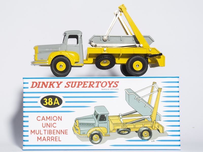 ATLAS DINKY TOYS SUPERTOYS 38A CAMION UNIC MULTIBENNE MARREL 1/43 CAR MODEL Die-cast стоимость