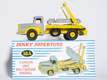 ATLAS DINKY TOYS SUPERTOYS 38A CAMION UNIC MULTIBENNE MARREL 1/43 CAR MODEL Die-cast