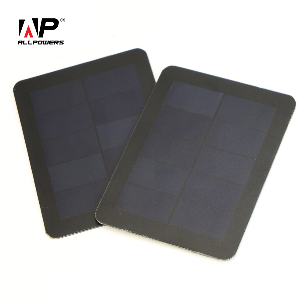 X-DRAGON Mini Portable Solar Panel 5V 1.5W Sunpower Solar Panel for Phones and other 5V Devices