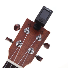 Guitar Tuner Bass Guitar Ukulele Violin Common Tuner Clip-on LCD Screen 360 Rotatable Accurate Fast Tuning Guitar
