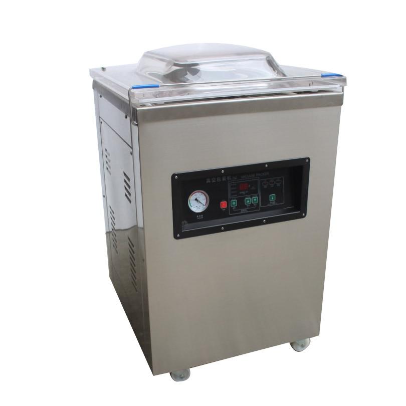 Machine de vide d'acier inoxydable de nourriture de scelleur de vide d'emballage sous vide de chambre simple de DZ-5002D