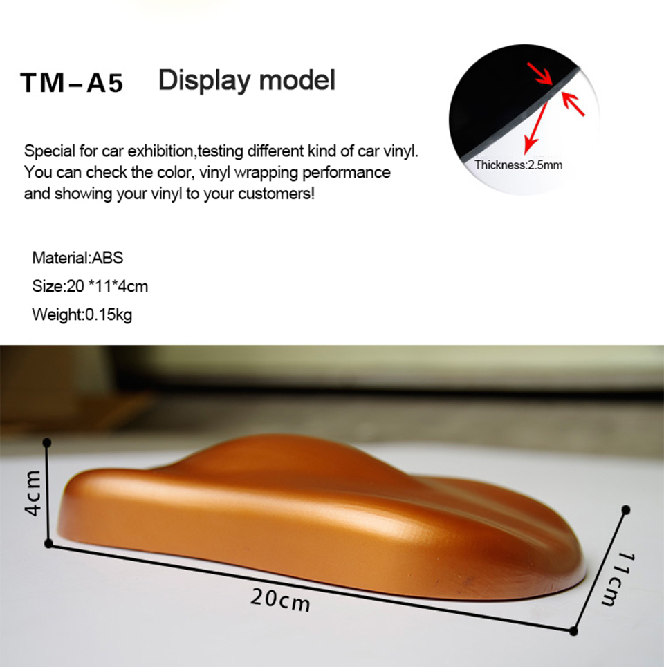 Image 2 - New Arrive Speed Shape, Plastic Car Shape Display Model For Car Wrap/Plasti Dip Paint/Water Hydrographic Film Display MO A5-in Car Stickers from Automobiles & Motorcycles