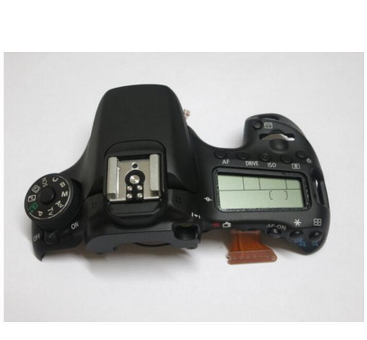 95% nouveau couvercle supérieur LCD/couvercle Flash pour Canon 70D pièce de réparation d'appareil photo numérique
