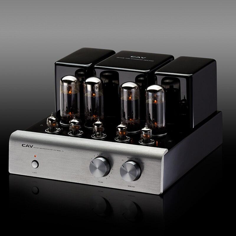 Электрические плиты CAV T-5 трубки усилители домашние высокое качество производства ЦАП HIFI аудио для колонки 20 Вт канала 2,0 high Fidelity мощность (Фото 2)